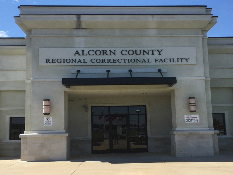 Alcorn County Correctional Facility Main entrance